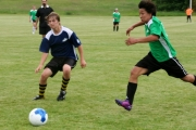 The older U15 teams showed great skill during their games. Photo Erin Perkins.